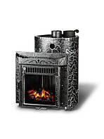 Дровяная печь для бани Ферингер Малютка Экран Антик (16 м3)