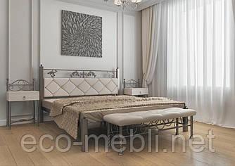 Півтораспальне ліжко Стелла Метал Дизайн