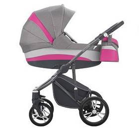 Универсальная коляска 2 в 1 Bebetto Murano New Пурпурный