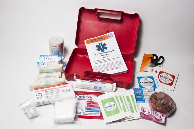 Інформація про засоби медичного призначення, що входять до складу Аптечки АМА-1
