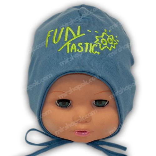 детские шапки на завязках