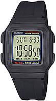Чоловічий спортивний годинник Casio F-201W-1AEF, фото 1