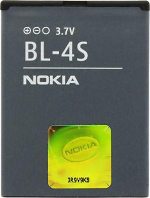 Аккумулятор батарея Nokia BL-4S, 2680, 3600s, 3710f, 7020, 7100, 7610, 3711, 3602, 6208, 7020, 7100, 7612, 371