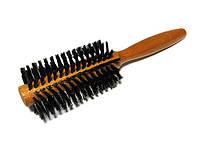 Расческа щетка для  укладки волос деревянная