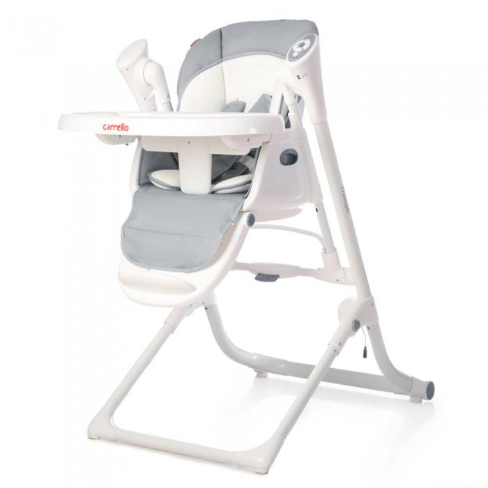 Детский стульчик для кормления и качель 3в1 CARRELLO TRIUMPH CRL-10302 GREY. Быстрая доставка.