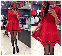 Платье красный