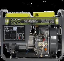 Генератор дизельный KONNER&SOHNEN BASIC KS 8000DE ATSR 6.5кВт однофазный Германия