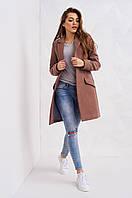 Пальто женское классика на пуговицах р.42-46 S1779