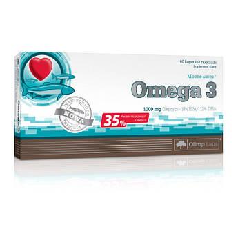 Omega 3 35% / Омега 3 35 % 1000 mg 60 caps