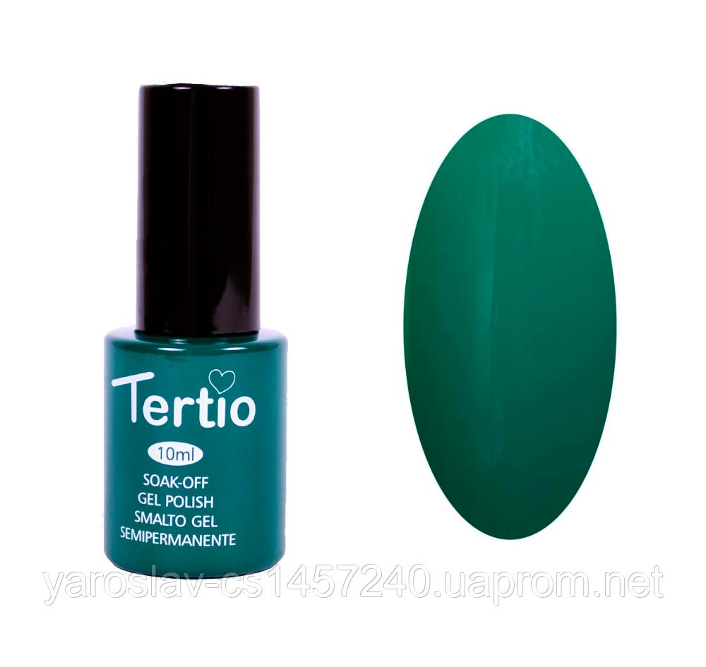 Гель лак Tertio №23, 10 мл зеленый