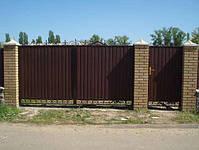Строительство заборов из профнастила, штакетника, блок-хауса, элементы художественной ковки, фото 5