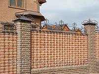 Строительство заборов из профнастила, штакетника, блок-хауса, элементы художественной ковки, фото 8