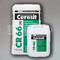 Эластичная гидроизоляционная смесь Ceresit CR 66, 22,5кг
