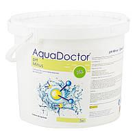 AquaDOCTOR - Средство для понижения кислотности воды (рН minus) в гранулах. Упаковка 5кг