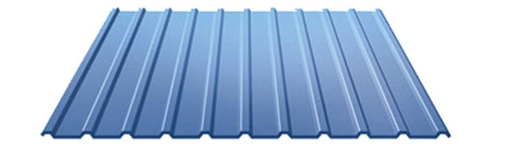 Профнастил c полимерным покрытием С-10 0.45 мм
