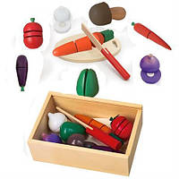 Ігровий набір Овочі Viga Toys 56291, фото 1