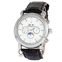 Мужские наручные механические часы Vacheron Constantin silver white (06734)