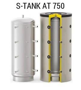 Буферная емкость (теплоаккумулятор) S-TANK AT 750 на 750 литров