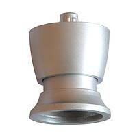 Ножка мебельная PN  0166 серебро