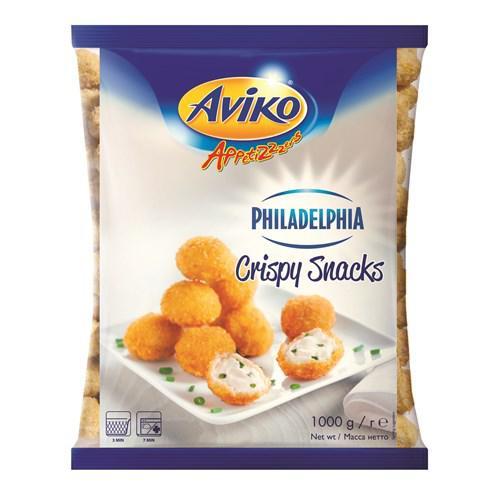 Aviko Philadelphia Crispy Snacks Філадельфія / Шарики Филадельфия 1 кг