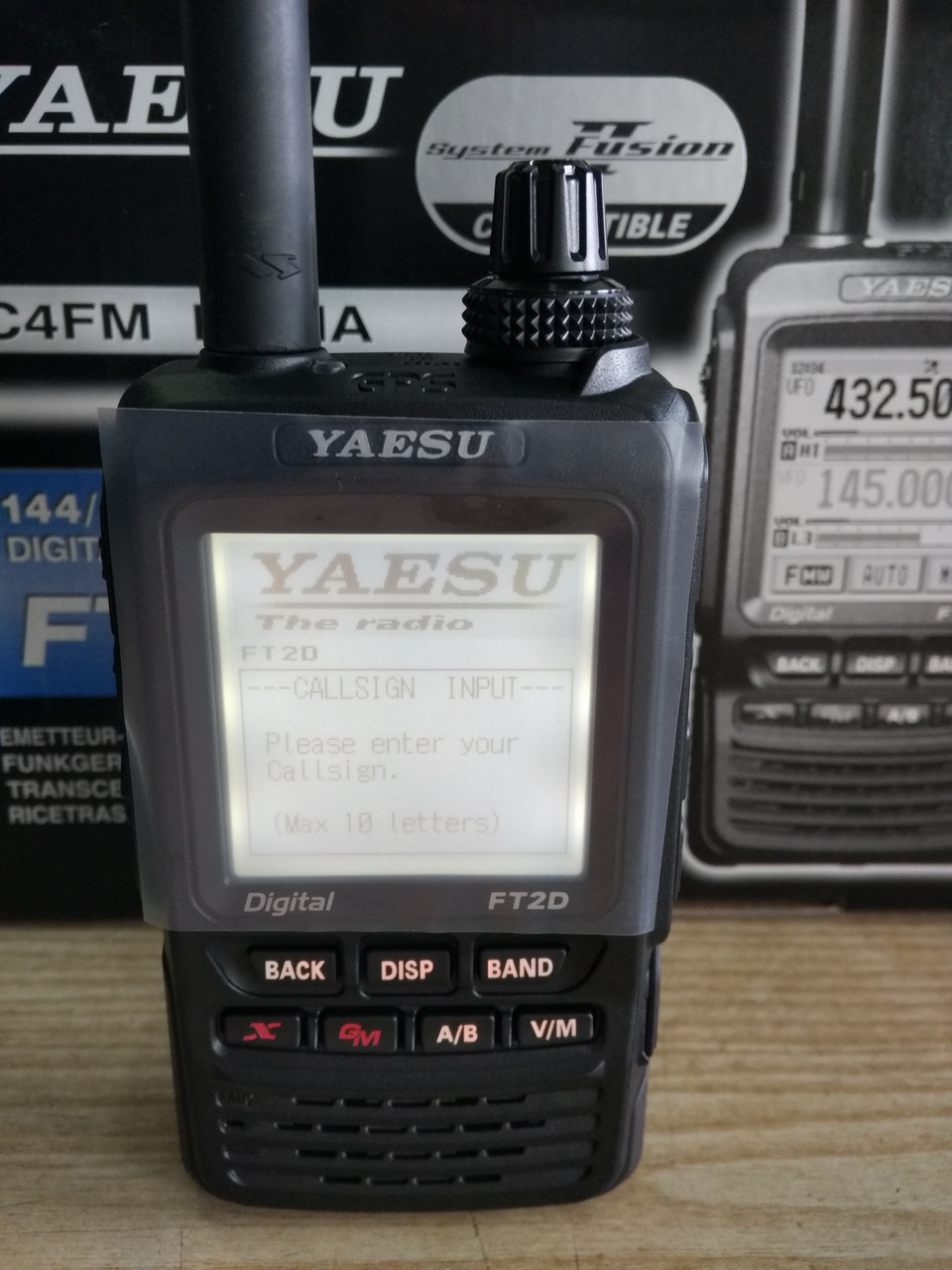 Yaesu FT2DR/DE, аналогово-цифровая радиостанция