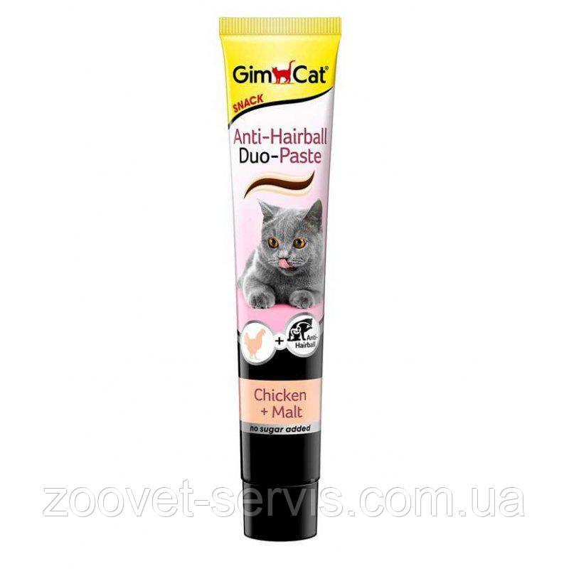 Паста для выведения шерсти Джимпет с курицейGimpet Duo-Paste 50 г