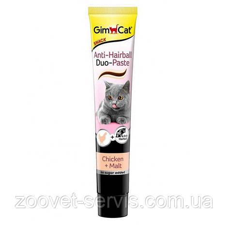 Паста для выведения шерсти Джимпет с курицейGimpet Duo-Paste 50 г, фото 2