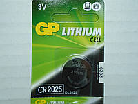 Батарейка брелка, пульта автосигнализации GP CR2025