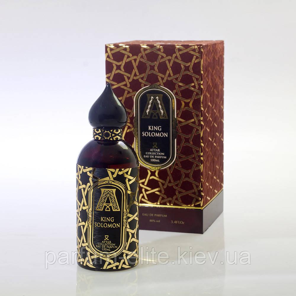 """Мужская восточная парфюмированная вода Attar Collection King Solomon 100ml - Интернет-Магазин """"Parfum Elite"""" в Киеве"""
