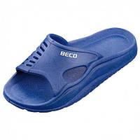 Детские тапочки BECO синий 9241