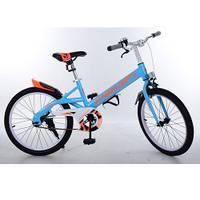Велосипед детский PROF1 20д. W20115-2 Original,синий,крылья,звонок,подножка
