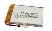 Аккумулятор Li-pol универсальный 04*30*48 3.7v