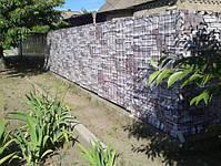Забор из профнастила, евроштакетника, сруба металлического, фото 9