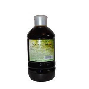 Экстракт ХВОЙНЫЙ (500 мл)-при простудах, бессоннице, повышенной раздражительности