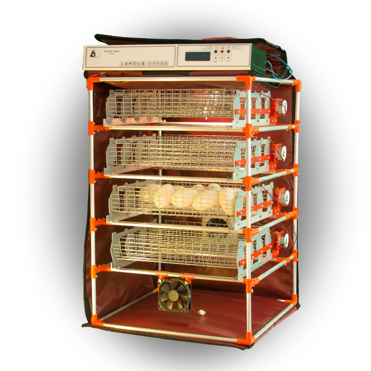 Автоматичний інкубатор-конструктор Zoom Goose на 112 яєць водоплавних птахів