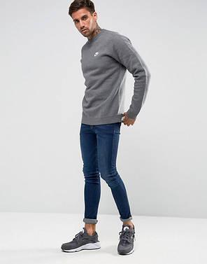 Толстовка Nike Core Fleece 804340-071 (Оригинал), фото 2