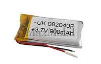 Аккумулятор Li-pol универсальный 08*20*40 3.7v