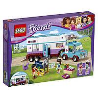 """Конструктор «LEGO» (41125) Конструктор ЛЕГО """"Ветеринарный фургон для лошадей"""""""