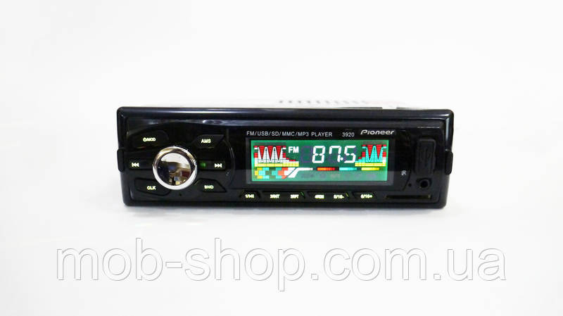 Автомагнитола Pioneer 3920 RGB подсветка USB