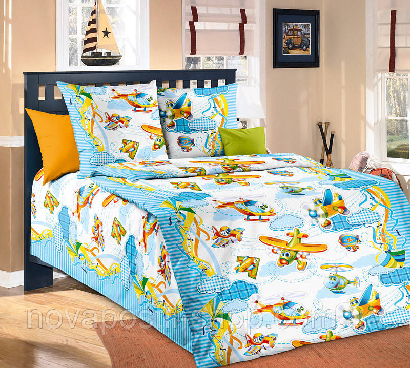 От винта, подростковое постельное белье для мальчиков (бязь, 100% хлопок)