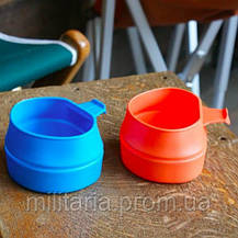 Чашка Wildo Fold A Cup Big orang (600 ml) 14737, фото 2