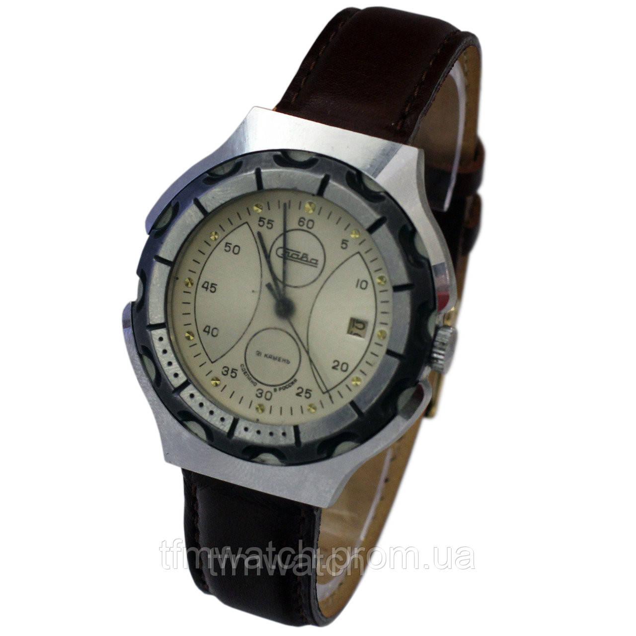Часы Слава 21 камень - Магазин старинных, винтажных и антикварных часов  TFMwatch в России 90bb451ff66