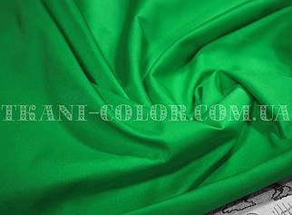 Костюмная ткань коттон мемори зеленый (оптом)