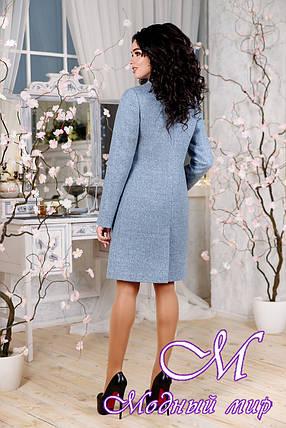 Элегантное женское демисезонное пальто (р. 44-54) арт. 1112 Тон 7, фото 2