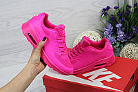 Женские кроссовки Nike Air Max 90 U.S.A (розовый), Реплика, фото 1