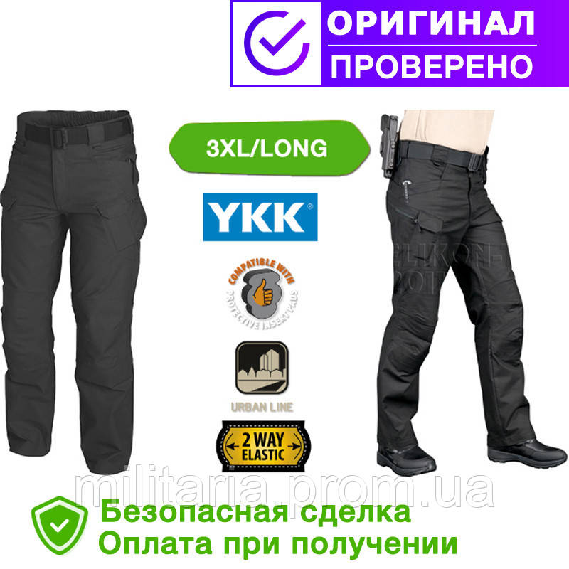 Брюки (штаны) Helikon-Tex Urban Tactical Pants Black S, M, L, XL, XXl, 3XL( L/Long ), M/Long (SP-UTL-PC-01)