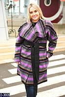 Женское пальто (50-52, 54-56) — кашемир купить оптом и в Розницу в одессе  7км