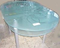 Стол обеденный, стекло 1350Х900Х750ММ