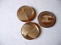Набор пуговиц, 3 штуки, 23 мм