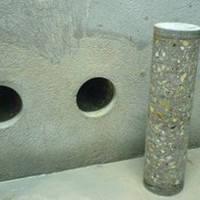 Сверление сквозных отверстий в стене (бетон, кирпич), от
